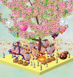 めざましチップさんの木